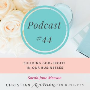 BUILDING GOD-PROFIT IN OUR BUSINESSES